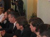 В честь юбилея центра Копатько мэр Донецка общался с политологами.