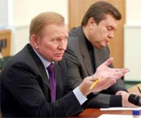 Кучма приехал в Днепропетровск агитировать за Януковича