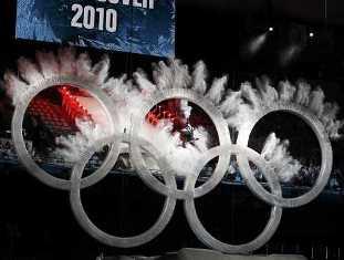Тысячи людей вышли на улицы Ванкувера, чтобы отметить начало Олимпиады (Вид ...