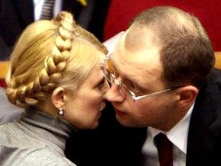 Тимошенко и Яценюк не могут поделить оппозицию