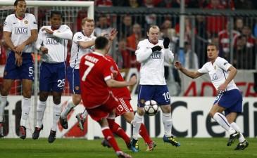 Лига Чемпионов: Бавария дожимает МЮ, Лион переигрывает Бордо