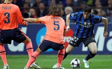 Лига Чемпионов: Интер справился с Барселоной
