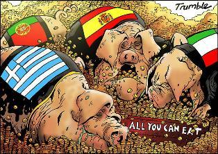 Слабые звенья Евросоюза, или Как Греция, Португалия и Испания спасаются от  ...
