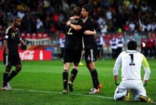 Германия бьет Уругвай в матче за третье место