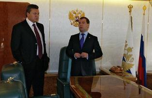 О чем договорились Янукович и Медведев
