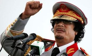 Последний аргумент Муамара Каддафи