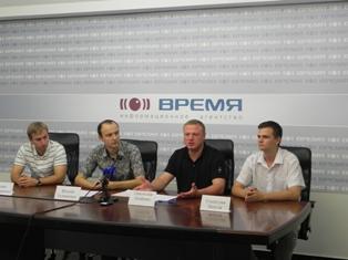 Украинские либералы объединились с европейской молодежью в Днепропетровске