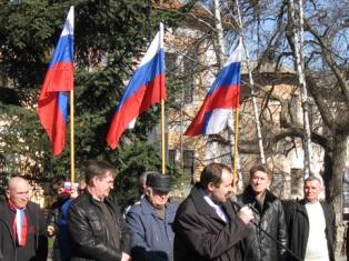 Россия проводит агитацию на Востоке против Януковича