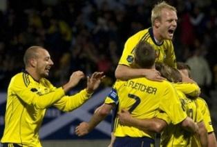 Евро-2012: Шотландия продолжает сражаться