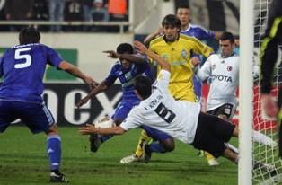 Лига Европы: минимальная победа Металлиста, поражение Динамо и вылет Ворскл ...