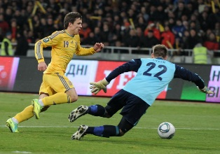 Украина феерит в матче с Германией, Хорватия и Ирландия почти на Евро-2012. ...