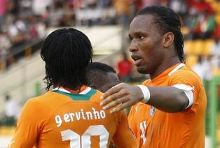 КАН: минимальные победы Анголы и Кот-д'Ивуар