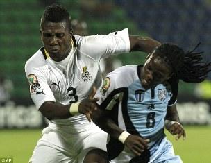 КАН: Гана со скрипом побеждает Ботсвану, Мали делает шаг к четвертьфиналу