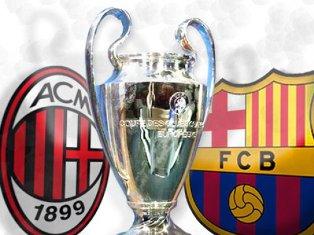 Лига Чемпионов: ничья Милана и Барселоны, уверенная победа Баварии