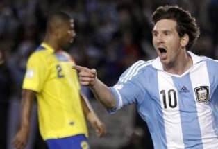 ЧМ-2014: Аргентина разгромила Эквадор