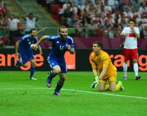 Евро-2012: Греция упускает победу в матче открытия