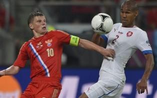 Евро-2012: Россия уверенно побеждает Чехию