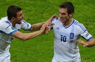 Евро-2012: Чехия и Греция выходят в четвертьфинал!