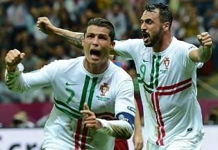 Евро-2012: Роналду выводит Португалию в полуфинал