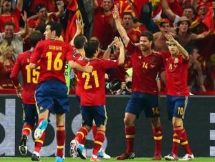 Евро-2012: Испания продолжает защиту титула