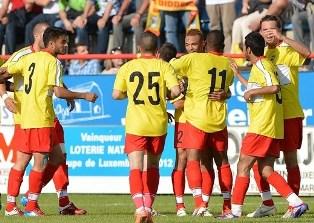 Лига Чемпионов: чемпион Люксембурга громит чемпиона Сан-Марино