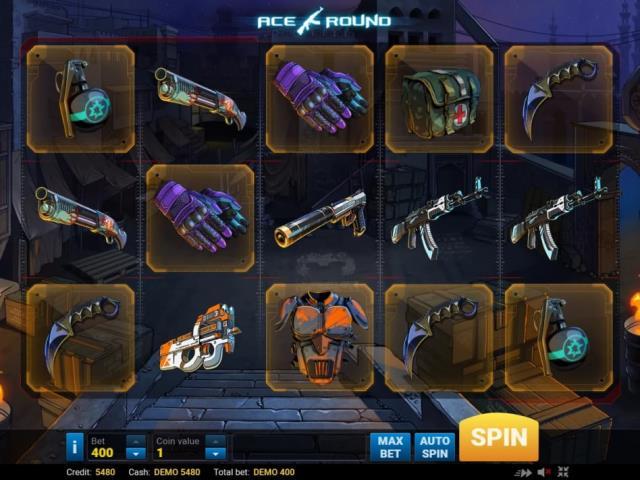 Слот в виде легендарного шутера: обзор игры Ace Round