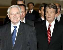 В.Ющенко и В.Адамкус обсудят строительство нефтепровода