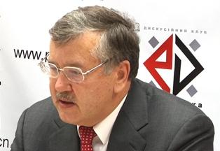 Анатолий Гриценко: еще есть время для решительных действий на всех фронтах