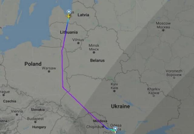 В Латвии решили отказаться от полетов над Беларусью после посадки самолета Ryanair