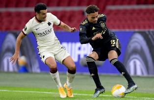 Лига Европы: Аякс уступает Роме, МЮ справился с Гранадой