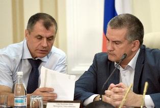 Аксенов и Константинов посещали украинский парламент накануне отделения Кры ...