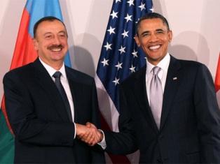 Ильхам Алиев и Барак Обама