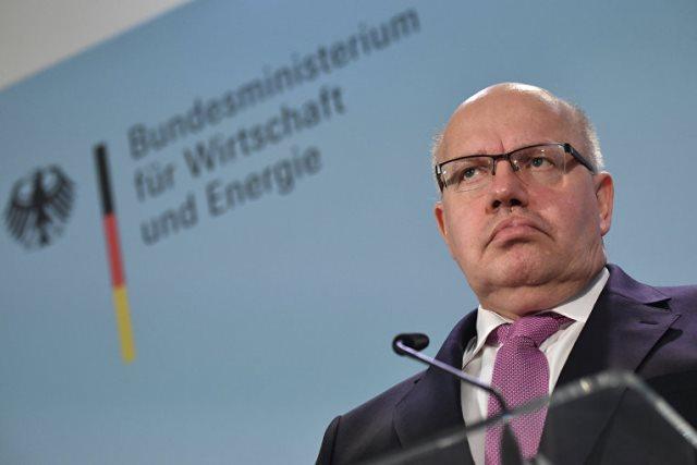 Министр экономики Германии сомневается в эффективности санкций против РФ