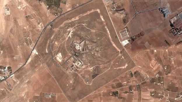 Тюрьма в Сирии