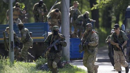 АТО в Донецке