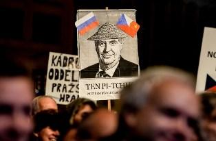 Протесты в Чехии: не хотим Земана, Россию и Китай