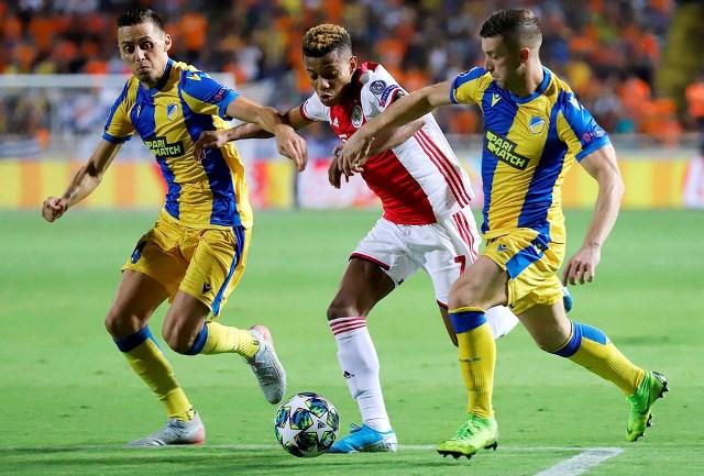 Лига Чемпионов: ничья Аякса на Кипре, минимальная победа Брюгге