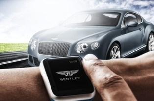 Bentley выпустила уникальное приложение для Apple Watch