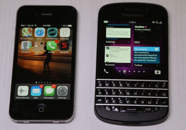 Apple vs Blackberry