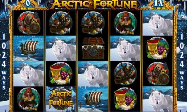 Arctic Fortune: реалистичная новинка на тем викингов