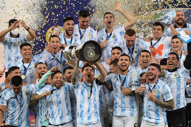 Copa America: Аргентина побеждает Бразилию в финале