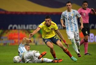 Copa America: Аргентина в серии пенальти обыграла Колумбию и вышла в финал