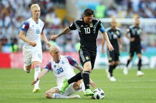 ЧМ-2018: Исландия выстояла против Аргентины, важные победы Дании и Хорватии