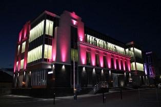 Дизайн архитектурного освещения зданий