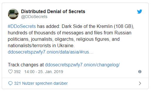 DDoSecrets: Wikileaks отказался публиковать материалы о войне РФ на Донбассе