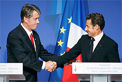 Виктор Ющенко вызвал у Европы ассоциацию