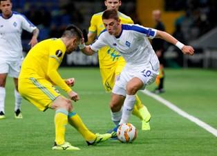 Лига Европы: Динамо обыграло Астану, Рапид вырвал победу над Спартаком