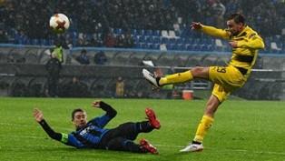 Лига Европы: Боруссия спасается в Бергамо, Эстерсунд красиво прощается с ту ...