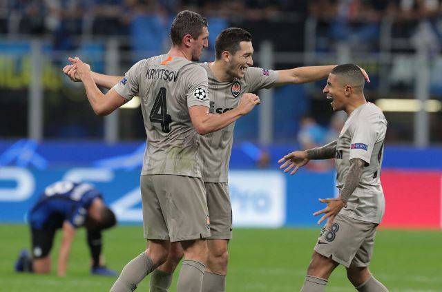 Лига Чемпионов: Шахтер вырвал победу над Аталантой, Реал избежал позора в Мадриде