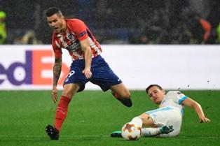 Лига Европы: Атлетико легко переиграл Марсель